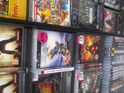 PS3 & Xbox 360 Vanquish £10 - HMV (instore)