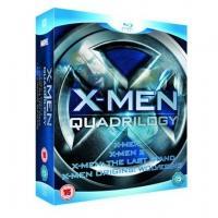 X-MEN Quadrilogy Blu-Ray £11.99 DELIVERED @ hmv