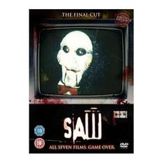 Saw 1-7 Box Set: The Final Cut Edition DVD (7 Discs) (With Lenticular Sleeve)  - £27.99 @ Play