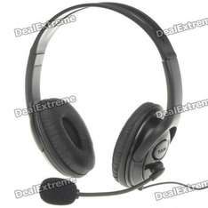 Xbox 360 Wired Headset + Microphone - £6.84 Delivered @ Dealextreme