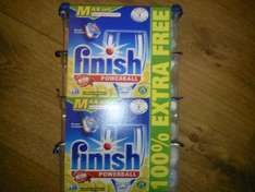 Finish MAXIN1 dishwasher tablets lemon 28+28 free £7.80 down to £3.90. but scanning at the tills at £1.95!! Bargain!  @ Tesco