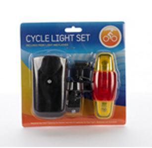 Bike Light Set (Front + Back) for £1 @ Poundworld