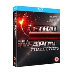 Lethal Weapon 1 - 4 Collection Box Set (5 Discs) (Blu-ray) - £14.39 (using code) @ HMV