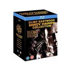 Clint Eastwood: Dirty Harry Collection Box Set (5 Discs) (Blu-ray) - £14.39 (using code) @ HMV