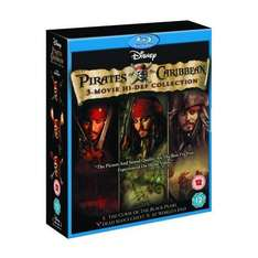 Pirates of The Caribbean Trilogy (Blu-ray) - £14.39 (using code) @ HMV