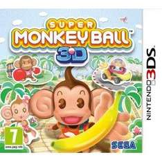 Super Monkey Ball 3DS @ AMAZON for £14.61 inc delivery (Game Collection)