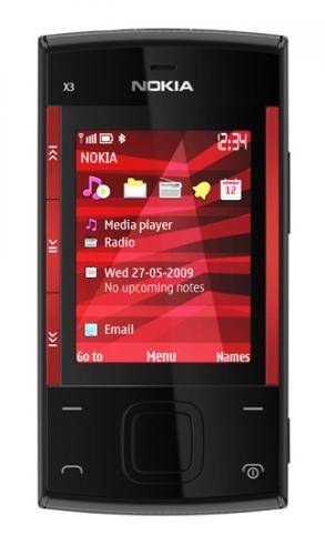 O2 Nokia X3 Red/Black for £54.97 @ Tesco Direc with £15 off code