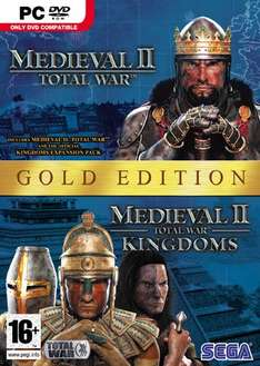 Medieval II: Total War Gold Edition - £3.50 @ PC World Downloads