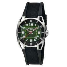 Breil Men's Watch With Green Analogue Dial And Black Rubber Strap from Amazon £54