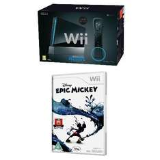 Nintendo Wii Console Black/White with Sports Resort & Goldeneye 007 or Epic Mickey ONLY £94 @ Tesco Direct