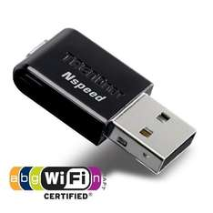 Mini Wireless N Speed 300mbps (Rx) USB Adapter (TRENDnet TEW-649UB) - £10.86 Delivered  @ CBC