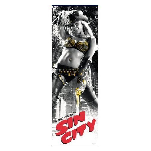 Sin City Jessica Alba Door Poster £2.49 Delivered @ PLAY