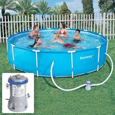 12-Foot Steel Pro Frame Pool with Filter Pump £99.97 @ Dealtastic