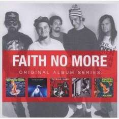 Faith No More - 5 CD Boxset (The Real Thing/Angel Dust/King For A Day Fool For A Lifetime/Album Of The Year/Live At) only £9.99 delivered @ Amazon