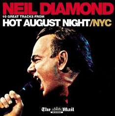 Free Neil Diamond CD  - With Mail On Sunday  22nd May 2011