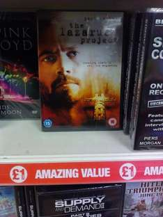 The Lazarus Project (starring Paul Walker) for £1 @ Poundland