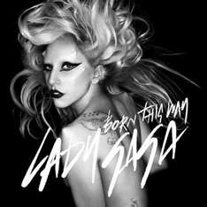 Lady Gaga 'Born This Way' Album £7.99 instore HMV on Monday 23rd