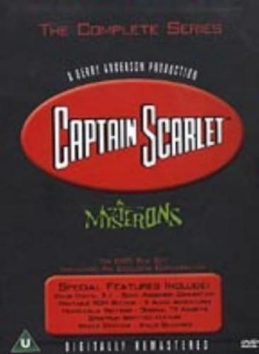 Captain Scarlet - The Complete Box Set (6 Discs) - £9.35 (using code) @ HMV