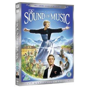 The Sound of Music 45th Anniversary Edition (DVD + Blu-ray) £7.49 @ Amazon
