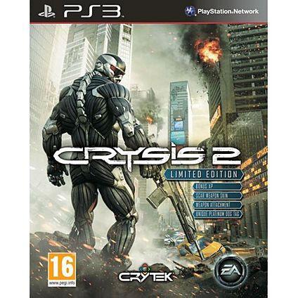 Crysis 2 PS3 Limited Edition £25 @ ASDA