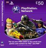 £50 PSN card for £35, instore, GAME