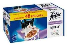 48 packets of Felix Catfood for 8.22 - 14p a cat feed@ Costco
