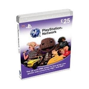 £25 PSN card for £20.99 at 7 Day Shop