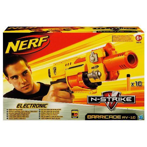 Nerf N-Strike Barricade RV-10 only £9.97 @ Tesco