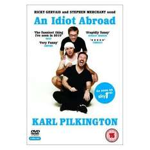Karl Pilkington: An Idiot Abroad  (DVD) - £5.85 Delivered @ Zavvi