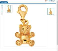 3 Gold Plated Silver Charm £14.98 @ Argos - HalfPrice and then 3 For 2 - making it more cheaper