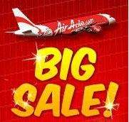 AirAsia Big Sale is back! Flights from £2, all-in-fare!