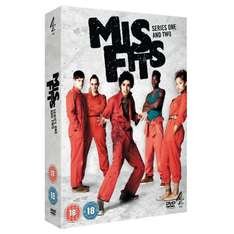 Misfits - Series 1 and 2 Box Set [DVD] - £11.97 delivered @ Amazon