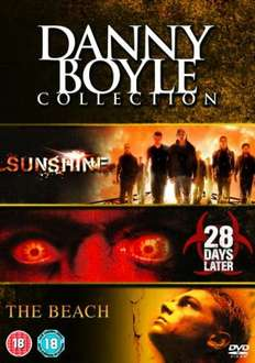 Danny Boyle Box Set (Sunshine / 28 Days Later / The Beach) (DVD) - £1.99 @ Sendit + £1.99 delivery 3% TCB
