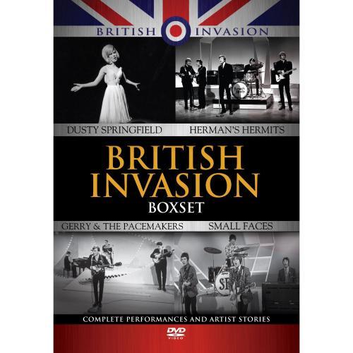 British Invasion Boxset (4 Discs & Bonus Audio CD) - £17.97 Delivered @ Amazon