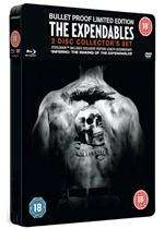 The Expendables - 3 disc 'bulletproof' Collector's Edition Steelbook  (DVD & Blu Ray) £9.99 @base.com