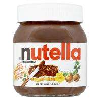 Nutella Large 400g jar £1 at ASDA instore and online :)