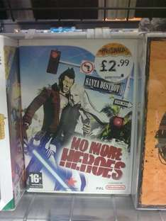 No More Heroes 1 (preowned) for Wii @ Gamestation £2.99