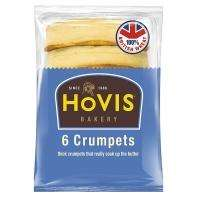 Hovis 6 Pack Crumpets, Less than half price @ Tesco 36p