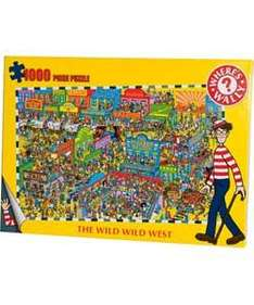 Where's Wally Wild West 1000 Piece Puzzle only £6.20 @ Argos