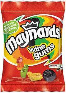 Maynards Wine Gums (215g), Bassett's Liquorice Allsorts (215g) or Bassett's Jelly Babies (215g) 2 for £1.48 @ Tesco