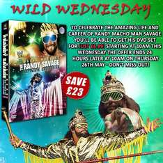WWE - Macho Madness - The Randy Savage Collection £6.99 @ Silvervision