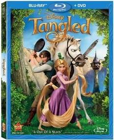 Tangled Double Play Blu-Ray £14.99 plus £10 off a £20 on your next visit @ Disney stores