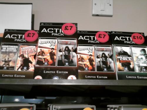 Splinter Cell Essentials & Ghost Recon 2 PSP Double Pack. £10 instore @ HMV