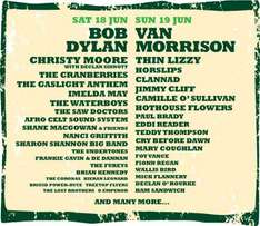 Free Feis Festival Ticket incl. Bob Dylan, Cranberries, Undertones (Saturday 18th June) @ Supajam