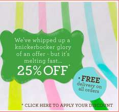 25% Discount @ Boden + Free Delivery
