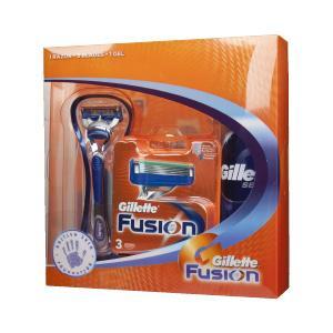 Gillette Fusion bundle - 4 Blades, Razor and Shaving Gel Pack £9 instore @ Asda