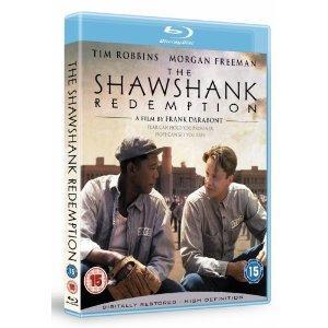 Shawshank Redemption blu-ray £6.39 with 20offhmv code at HMV