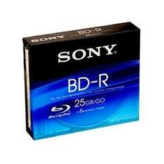 5x Blank Sony BD-R Disks - £11.79 at Play