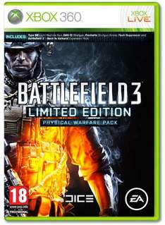 Battlefield 3 Limited Edition Physical Warfare Pack £39.99 @ Game