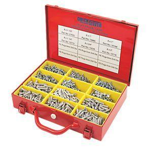 Quicksilver® Handy Trade Screw & Plug Case 2000 Pieces £14.99 @ Screwfix Was £30.63